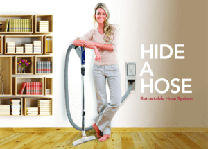 ducted vacuum hide a hose