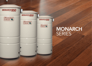 ducted vacuum monarch series