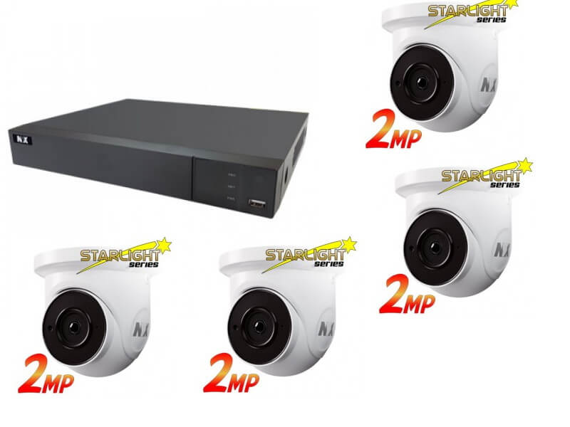 4 ch security camera special