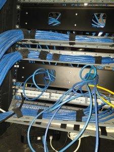 Data and communication installation